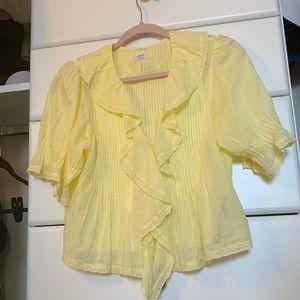 Aritzia Tops - NWOT Aritzia SS19 Wilfred Blouse in Yellow